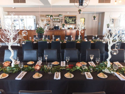Special function occasions can be hosted at the Village Hotel