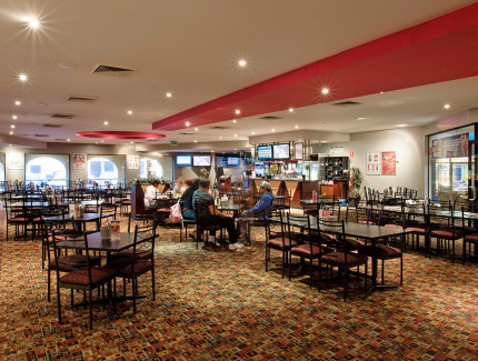 Dine in the Monash Hotel bistro today