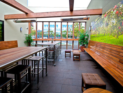 Royal Hotel Beer garden is a great place for social gatherings and function events