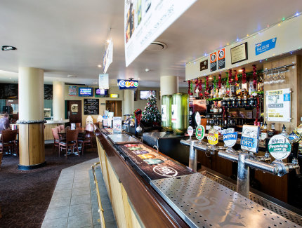 Pritchard's Hotel Bar in Mount Pritchard
