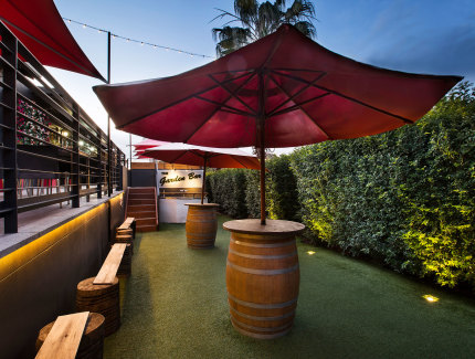 The Garden Bar at The Ranch is the perfect location for drinks and meeting friends