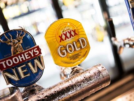 Glenmore Tavern has favourite beers on tap