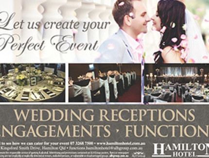 Wedding Receptions at the Hamilton Hotel