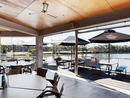 Enjoy the waterfront views in Diddillibah