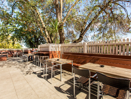 The Beer Garden is a great spot for your next function