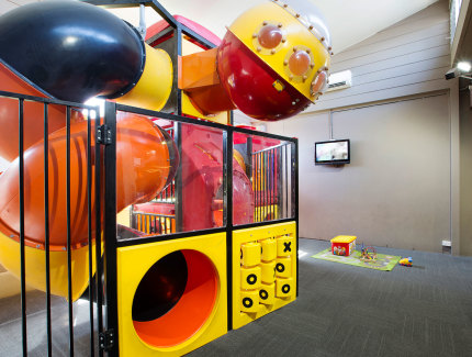 Indoor Kids playground at the Links Hotel