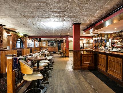 Flanagan's Bar at the Ferntree Gully Hotel