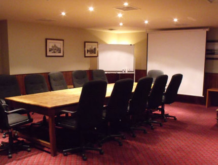 Book your next corporate function in the Boardroom at the Manhattan Hotel