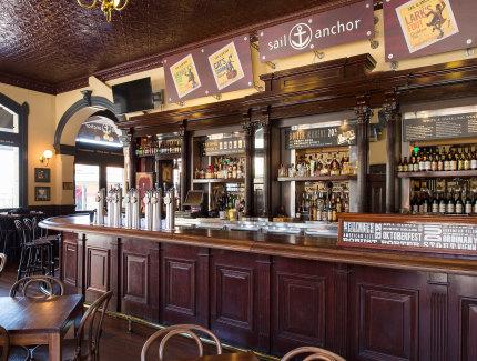 Enjoy a tipple at the Market Bar in Fremantle