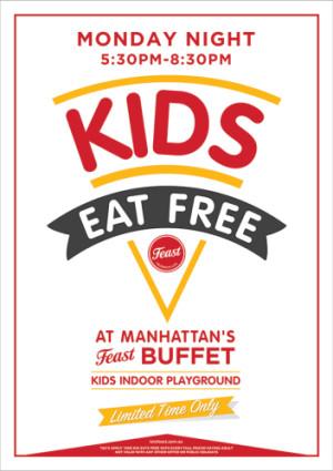 Monday Night Kids Eat Free