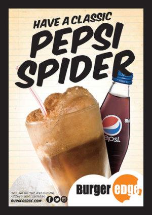 Classic Pepsi Spider