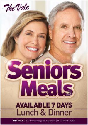 Seniors Meals