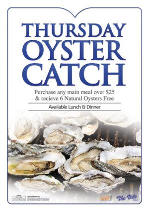 Thursday Oyster Catch