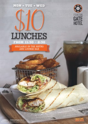 $10 Lunches