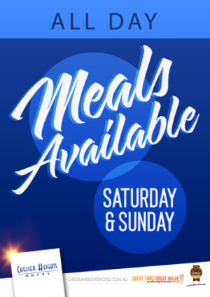 Meals Available