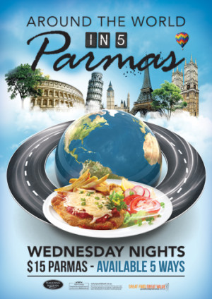 Around the World in 5 Parmas