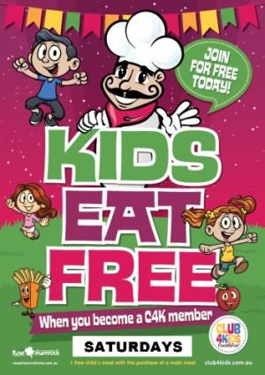 Saturdays Kids Eat Free