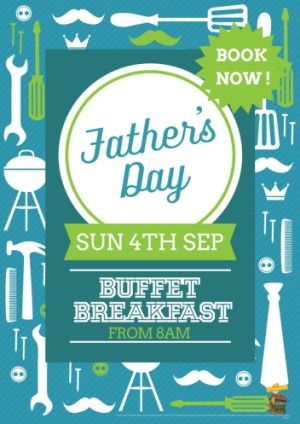 Book Now For Father's Day