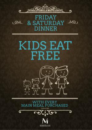 Kids Eat Free