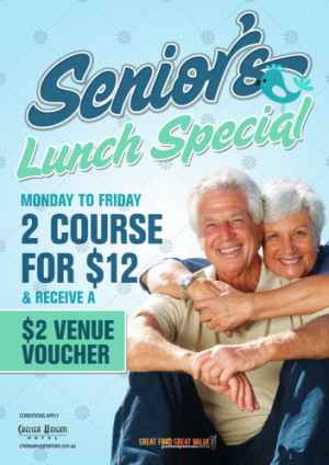 Monday to Friday Senior's Lunch Special