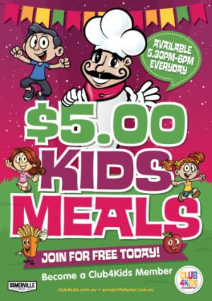 $5 Kids Meals