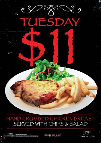 $11 Parma Tuesday