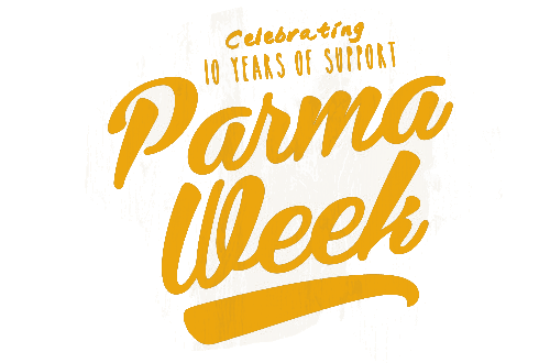 Celebrate Parma Week at a venue near you.<br>$2 from every Parma sold will be donated to the Royal Children's Hospital Good Friday Appeal.