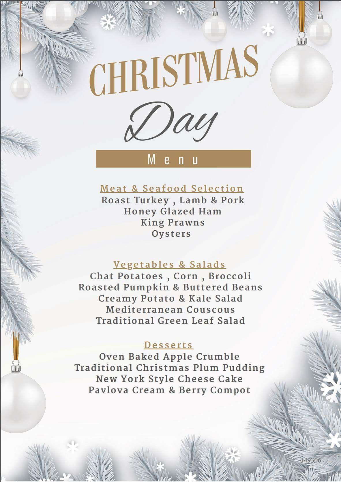 Morwell Hotel Christmas Day Lunch tickets (Morwell Hotel) from Oztix ...